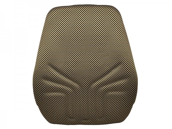 Polster Rücken 722 Stoff gelb schwarz Heizung